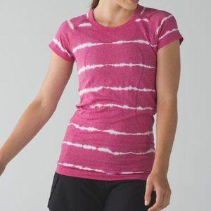 Lululemon Swiftly Tech Tie Dye Shirt